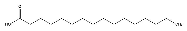 Grafik Palmitinsäure Sano Labor - Fette im Futter von Rindern